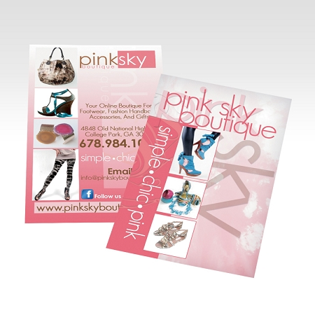 500 3X8 Flyers (Same Day) | Quarter Page Flyers | Small Flyers ...
