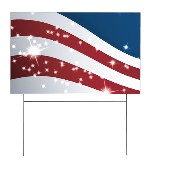 ONE/TWO COLOR YARD SIGN SPECIAL
