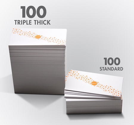 TRIPLE THICK CARDS