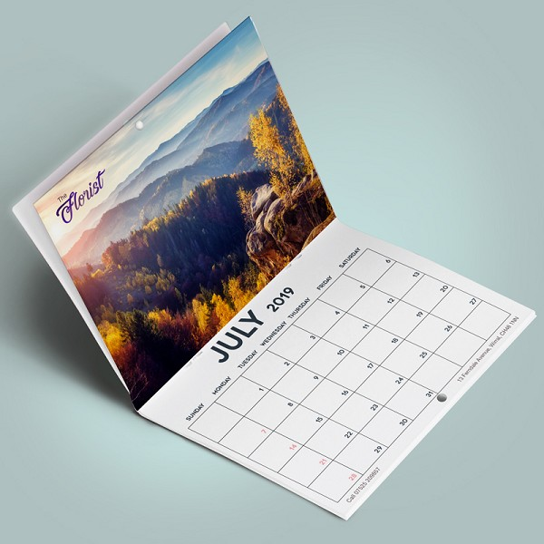 Calendars - Saddle Stitch - Qty. 100