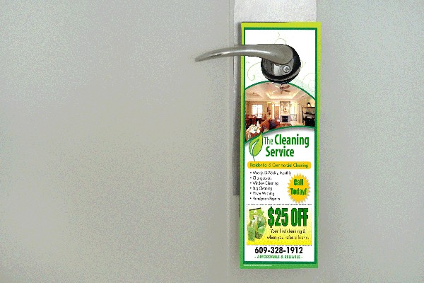 10000 - 3 Day Door Hanger 4 x 12