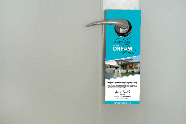 20000 - 3 Day Door Hanger 4 x 9