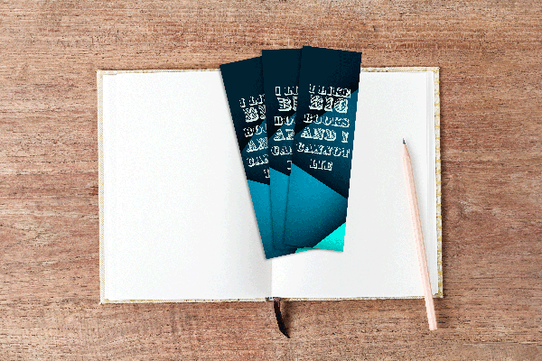 2500 SAME DAY 2 X 7 BOOKMARKS