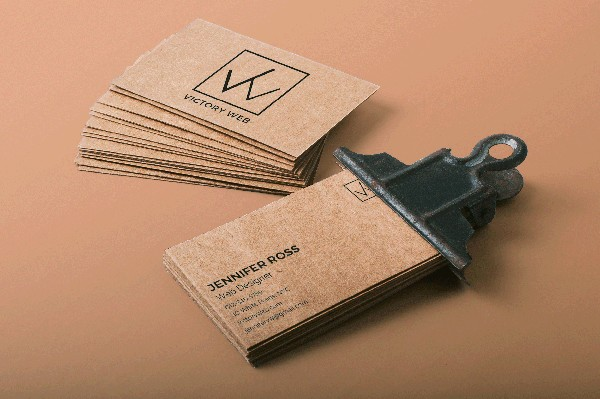 2500 SAME DAY RECYCLED BUSINESS CARDS